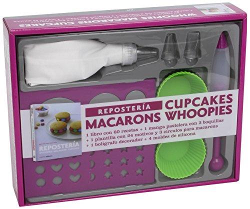 Kit Repostería: Whoopies- Macarons-Cupcxakes (Cocina) por AA. VV.