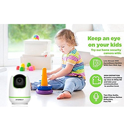 PYRUS 960P HD Stream Wifi IP-Kamera-Überwachungssystem mit eigener Web-App Home Security Baby Monitor - 6
