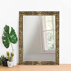 Art Street Classy & Trendy Home Decor Lavaliere Black Wall Mirror - 15X21 Inchs,