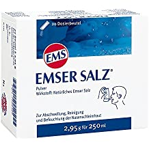 EMSER Salz Beutel 20 St Pulver