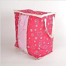GYMNLJY Famiglia spese Non tessuto Abbigliamento e trapunte sacchetto Multi-Purpose Quilt sacchetti antipolvere detriti deposito Bag(pack of 2)