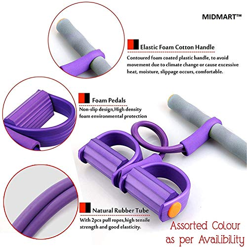 MIDMARTTM Pull Reducer, Waist Reducer, Tummy Trimmer, Body Shaper Trimmer for Reducing Your Waistline and Burn Off Extra Calories, Tummy Fat Burner, (Multicolour)