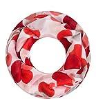 Majea NEUE Saison Damen Loop Schal viele Farben Muster Schlauchschal Halstuch in aktuellen Trendfarben (rot 25)