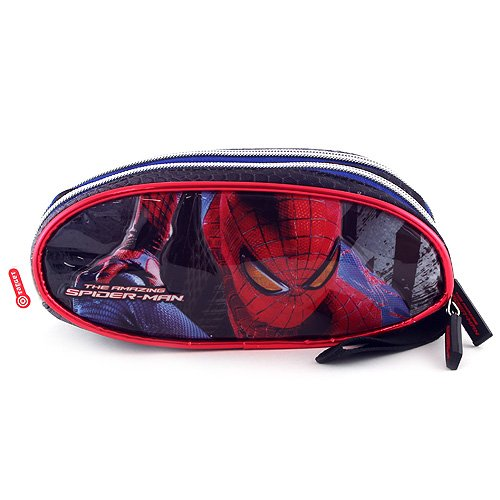 Spiderman 00735 3D Trousse scolaire ellipse