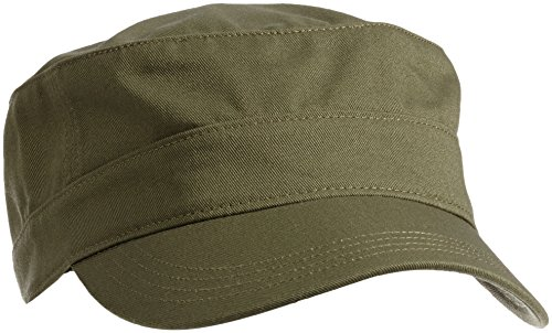 PUMA Erwachsene Essential Military Cap, Grün (Burnt Olive), One size, 832401 05