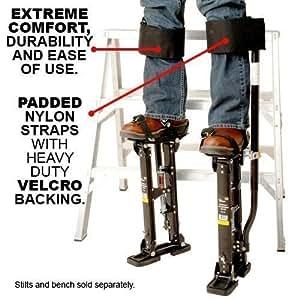 New Straps Only Design Comfort Strap Drywall Stilts Leg