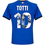 Italien Home Trikot 2018 2019 + Totti 10 (Gallery Style) - M