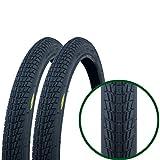 Fincci - Par de Neumáticos para Bicicleta, 20 x 1,75 47-406