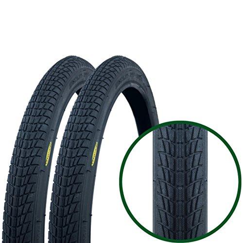 Paar Fincci Reifen für BMX oder Kinder Fahrrad 20 x 1.75 47-406 (Kind-fahrrad-reifen)