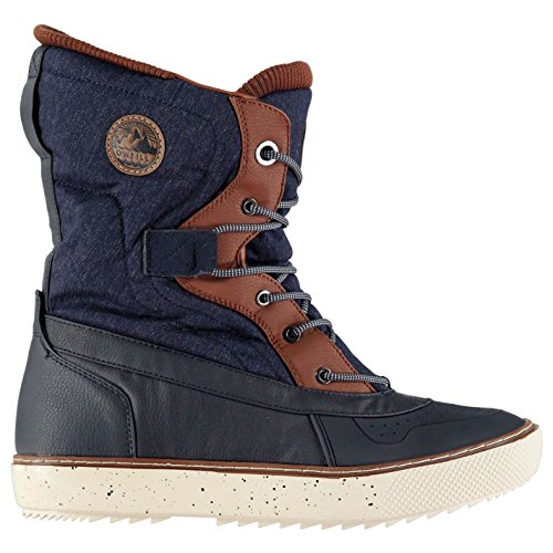 Oneill Homme Hucker Melee Bottes Bottines Hiver Neige Chaussures Chaud Lacets Denim Melee