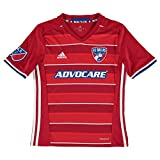 adidas Childrens Kids Football Soccer FC Dallas Home Shirt Jersey Top 2016