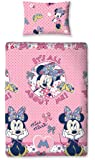 Character World 135 x 200 cm Disney Minnie Mouse Shopaholic Single Rotary Duvet Set