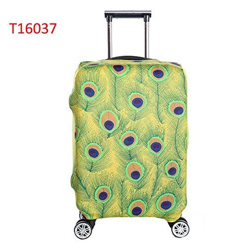 Meijunter Koffer Schutz Abdeckung Drucken Elastisch Verdicken Anti-Kratzer Gepäck Skin Tasche T16037