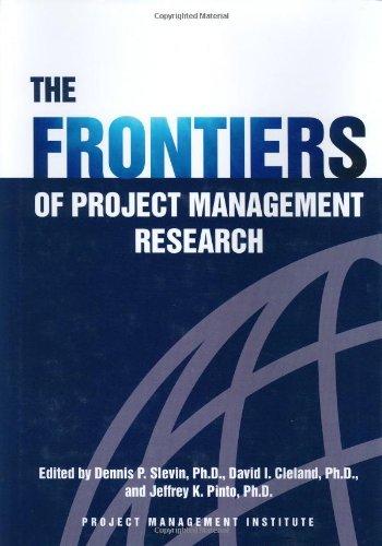 The frontiers of project management research EPUB Téléchargement gratuit!