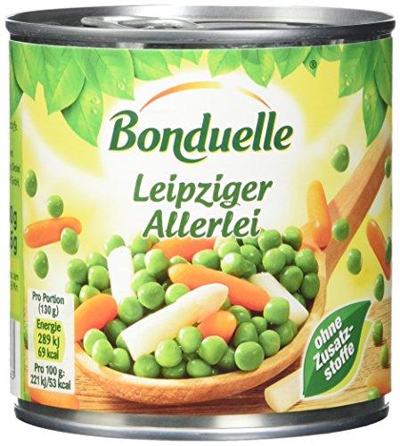 Bonduelle Gemüsemisch.Leipzige , 4er Pack (4 x 400 g Dose)
