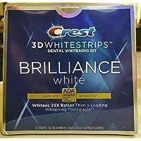 Crest 3D Whitestrips Brilliance White Teeth Whitening Kit - 16 Treatment/32 strips