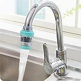 #5: Lukzer Medical Stone Magnetization Water Faucet Filter Purifier Strainer, Random Color