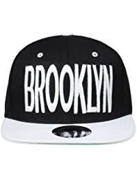 Original Snapback (one size, Brooklyn City Schwarz /Weiß) + Original MY CHICOS Sticker