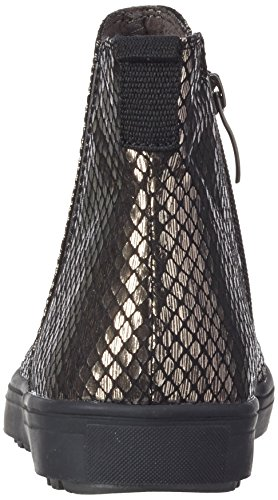 Tamaris Damen 254 Chelsea Boots Silber (Pewter Struct. 964)