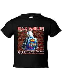 Camiseta niño Iron Maiden Tour 2018 Madrid