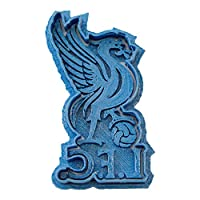 Cuticuter Liverpool Team Football Cookie Cutter, Blue, 8 x 7 x 1.5 cm