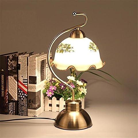 Lampe de table Lampe à table tactile simple à contact