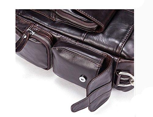 Damen-Kurierbeutel-Damebeutelart Und Weiseschulterbeutelhandtasche,Black-OneSize Laidaye