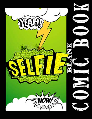 Blank Comic Books: Green Jungle Blank Comic Panel Book 8.5 X 11 Comic Strip Notebook, Over 160 Pages With 3, 5, 7, & 9 Panel Boxes Templates  Plus ... (Blank Comic Books Collection LG, Band 1) Lg Green