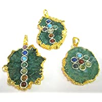 Exklusives Set von drei galvanisch Onyx Chakra Cabochon Anhänger Crystal Healing Fashion Wicca Jewelry Herren... preisvergleich bei billige-tabletten.eu