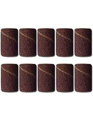 10 embouts émeri pour ponceuse faux ongles électrique grains 180