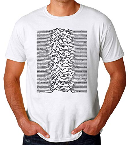 Wicked Design Joy Division Unknown Pleasures Album Cover Camiseta...