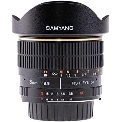 SAMYANG 8mm f/3.5 Fish Eye (pour Canon)