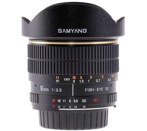 Great Buy for SAMYANG 8 mm f / 3.5 IF MC Fisheye Lens for Canon Discount