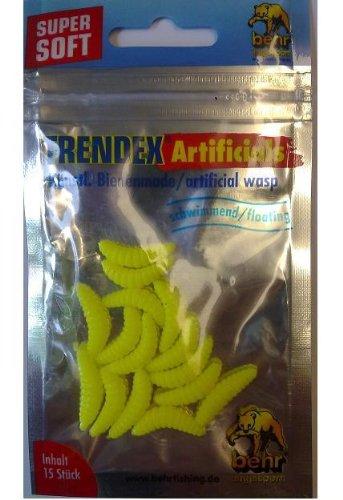 appat-artificiel-peche-forelle-larves-dabeille-mouche-imitation-truite-jaune-fluo