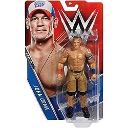 WWE BASE SERIE 74 wrestling action figure - John Cena ' BLU & ARANCIONE ABBIGLIAMENTO' SMACKDOWN live box