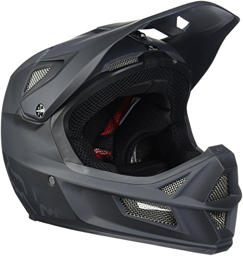 Fox Herren Helm Rampage Pro Carbon, Matte Black, L, MTB15S-13253-255 (Carbon Cross)