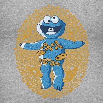 TEXLAB - American Cookie - Herren T-Shirt Grau Meliert