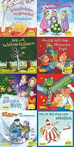 Pixi-Weihnachts-8er-Set 30: Lasst uns froh und munter sein (8x1 Exemplar)