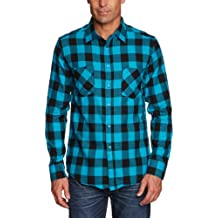 Urban Classics Checked Flanell Shirt - Camisa