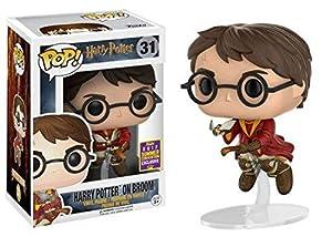 FUNKO - Figurine POP Harry Potter on Broom (SDCC 2017 Exclusive)