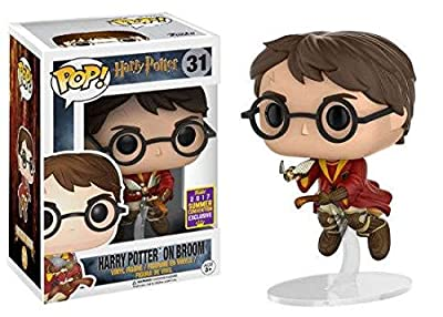 FUNKO - Figurine POP Harry Potter on Broom (SDCC 2017 Exclusive)