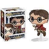 Funko - Figurine Harry Potter - Harry Potter on Broom SDCC 2017 Pop 10cm - 0889698147330