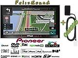 Pioneer Naviceiver AVIC-F88DAB | High Quality Multimedia Autoradio mit kapazitivem 7