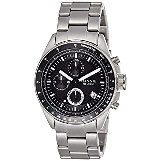 Fossil Decker Chronograph Analog Black Dial Men's Watch – CH2600IE