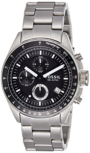 Fossil Decker Chronograph Analog Black Dial Men's Watch