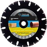 NOZAR Premium Diamantscheibe Multidrive HK 230 x 22.23 mm für Bauholz, Spanplatten, Dachpappe, Hartgummi, Hartkunststoffe