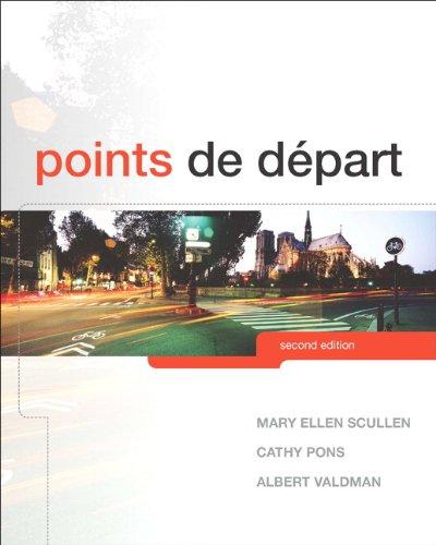 Points de départ (English Edition) (Depart De Points)