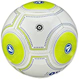 Jako Ball Futsal Light 3.0, Weiß/Lemon/Marine-360G, 4, 2337 - 2