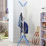 QYQYMJ Kinder Einfache Mode baumförmigen Massivholz Kleiderständer Kinder Kiefer Aufhänger Tasche Halter (Farbe : A)