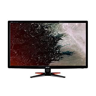 Acer GN246HLBbid 24 Inch FHD Gaming Monitor, Black (TN Panel, 1 ms, HDMI, DVI)